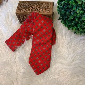 {Lands' End} Men's Red Tie | Classic